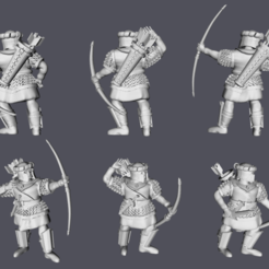 Download free STL file Arnor Archers • 3D printable object, Swagius_Maximus
