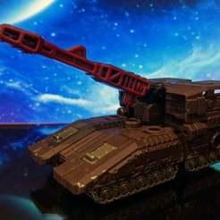 Impresiones 3D gratis Montaje de armas para transformadores Siege Skytread & Slamdance, jesslynmakesrobots