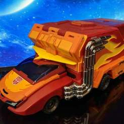 Download free 3D printing files Spoiler for DX9 Carry / Rodimus Prime, jesslynmakesrobots