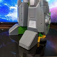 Download free 3D printer designs Toe Covers for Unique Toys Allen, jesslynmakesrobots