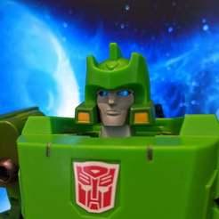 Télécharger plan imprimante 3D gatuit Un visage pour des jouets uniques Allen, jesslynmakesrobots
