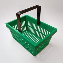 shopping_basket_title_ed.jpg Download STL file Shopping Basket • Template to 3D print, retorte_labs