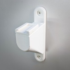modular_light_holder_short_title.jpg Download free STL file Modular Hot Shoe Light Holder for Wall Mount • Template to 3D print, retorte_labs