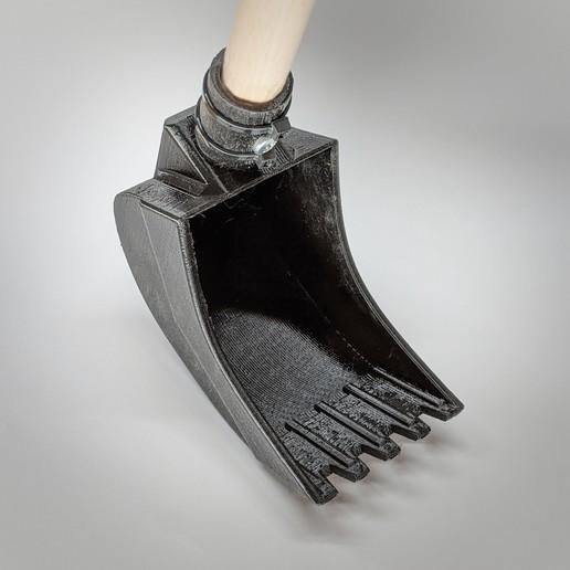 Télécharger fichier STL Godet pelleteuse pour bac à sable et plage • Modèle à imprimer en 3D, polo156