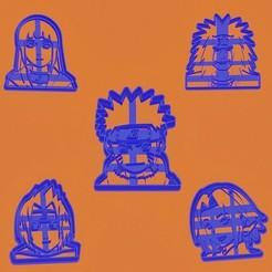 Naruto.promo.jpg Télécharger fichier STL Les emporte-pièces de Naruto • Objet imprimable en 3D, efrainmsolano