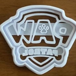 127441998_334208054538008_8976668688518913005_o.jpg Download STL file Paw patrol cookie cutter • 3D printing design, efrainmsolano