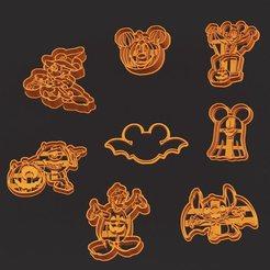 121506048_297656698193144_9047452406579558245_o.jpg Download STL file Halloween disney kit • 3D printer template, efrainmsolano