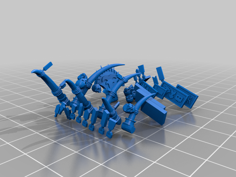 Chair_Decals.png Download free 3MF file One-Armed Dino-Jesus & His Pet Tyrannosaur • 3D printing model, EmanG