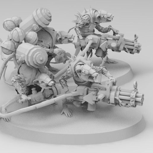 untitled.171.jpg Download free 3MF file Ratman Weapon Squads • 3D printable object, EmanG