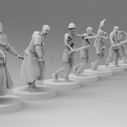 untitled.801.jpg Download free 3MF file Zombies (28mm) • 3D printer design, EmanG