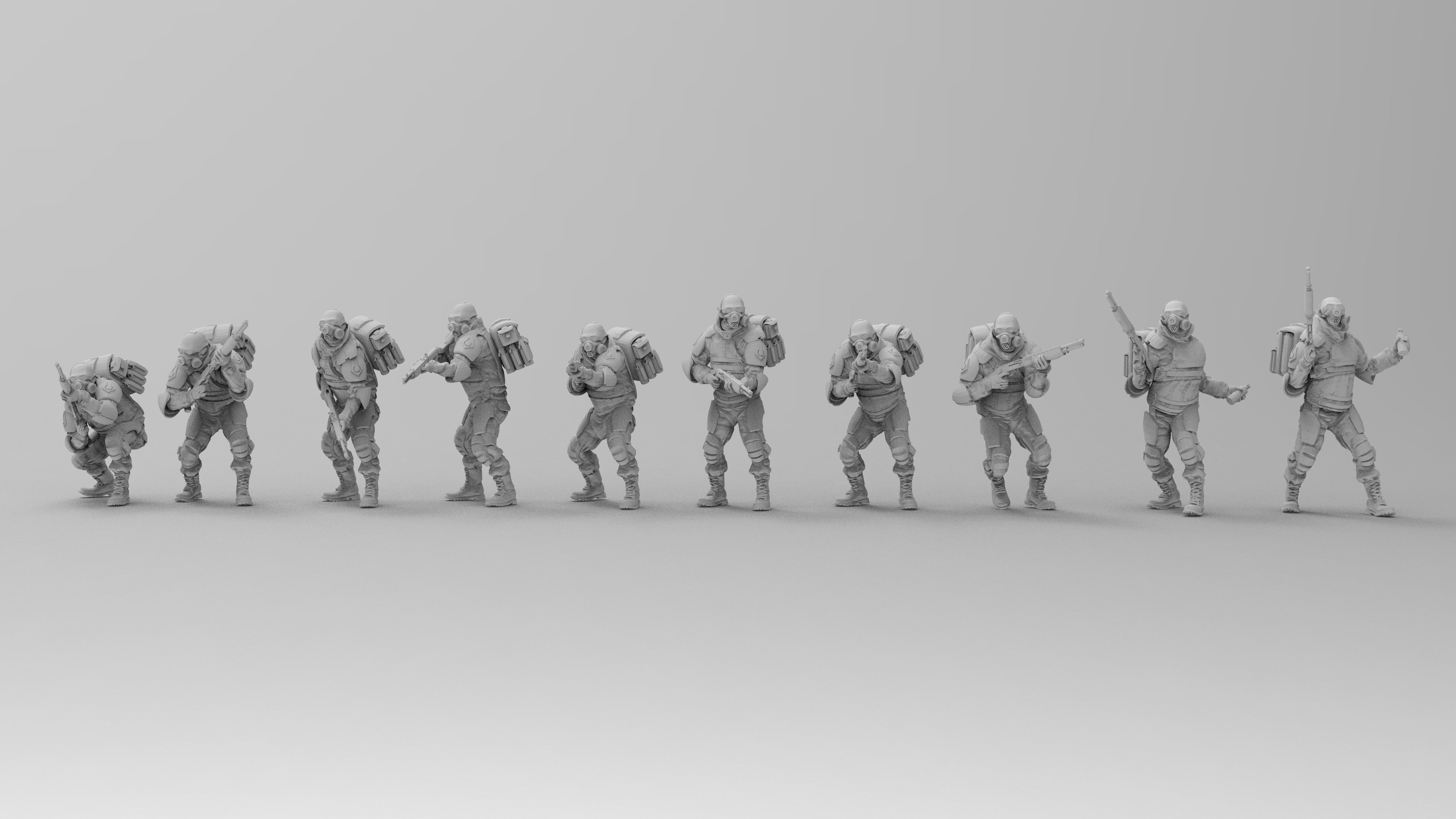untitled.1369.jpg Download free 3MF file Combine Overwatch Soldiers (Half-Life) • 3D print template, EmanG