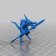Kroq-Gar.png Download free 3MF file One-Armed Dino-Jesus & His Pet Tyrannosaur • 3D printing model, EmanG