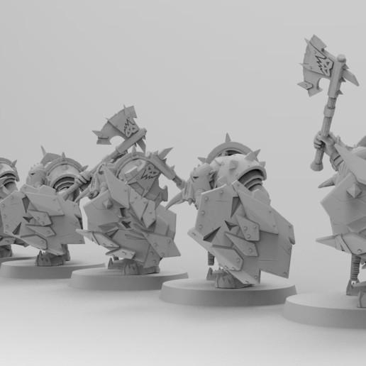 untitled.1544.jpg Download free 3MF file Black-Armored Boss Gitz • 3D printer model, EmanG