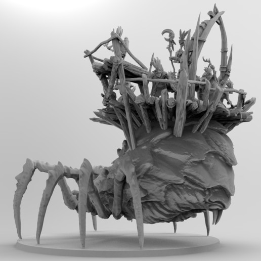 untitled.1148.jpg Download free 3MF file Child of Kumonga with Australian Spider-Tamer Contingent • 3D printable template, EmanG