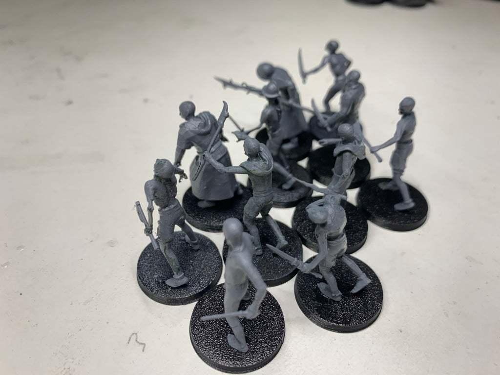 IMG_9693.JPG Download free 3MF file Zombies (28mm) • 3D printer design, EmanG
