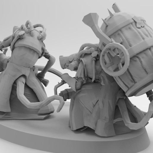 untitled.647.jpg Download free 3MF file Ratman Weapon Squads • 3D printable object, EmanG