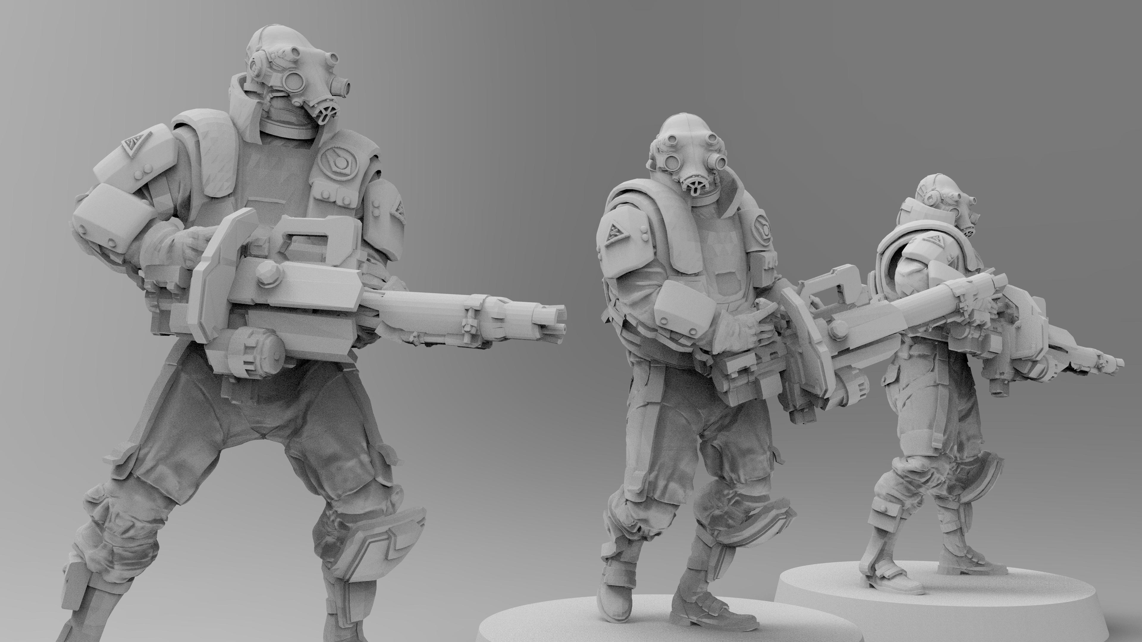 untitled.1286.jpg Download free 3MF file Combine Suppressors (Half-Life) • 3D printable model, EmanG