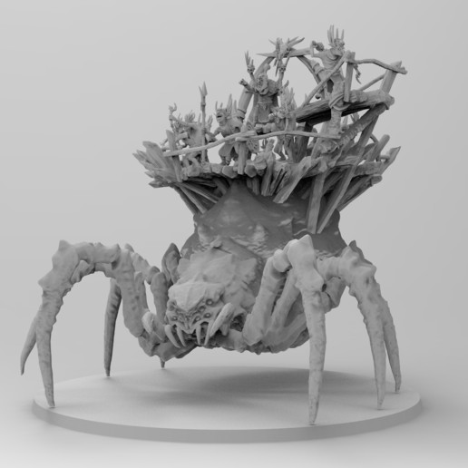 untitled.1144.jpg Download free 3MF file Child of Kumonga with Australian Spider-Tamer Contingent • 3D printable template, EmanG