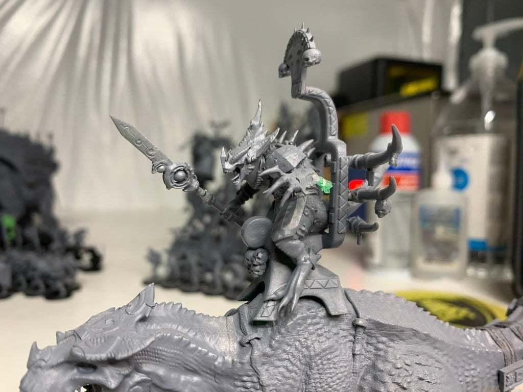 IMG_0145.JPG Download free 3MF file One-Armed Dino-Jesus & His Pet Tyrannosaur • 3D printing model, EmanG