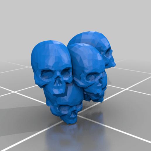 Chair_Skulls.png Download free 3MF file One-Armed Dino-Jesus & His Pet Tyrannosaur • 3D printing model, EmanG