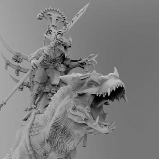 untitled.566.jpg Download free 3MF file One-Armed Dino-Jesus & His Pet Tyrannosaur • 3D printing model, EmanG