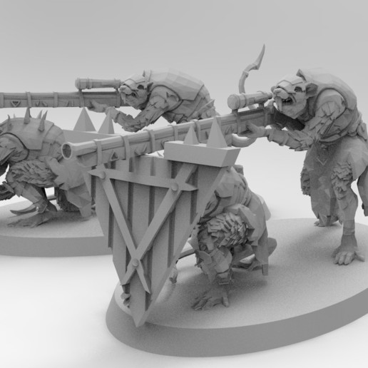 untitled.215.jpg Download free 3MF file Ratman Weapon Squads • 3D printable object, EmanG