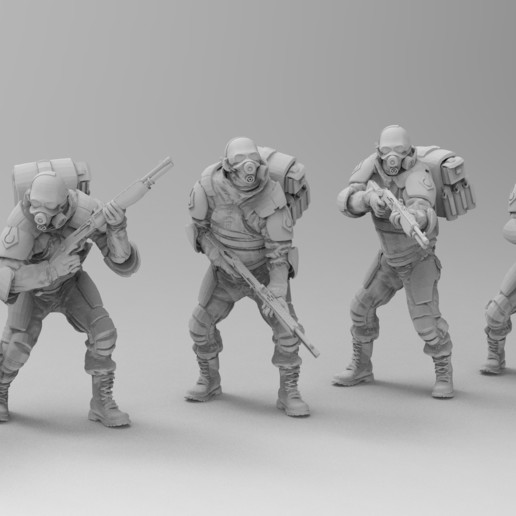 untitled.1367.jpg Download free 3MF file Combine Overwatch Soldiers (Half-Life) • 3D print template, EmanG