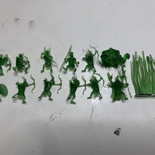 Goblins (1).JPG Download free 3MF file Child of Kumonga with Australian Spider-Tamer Contingent • 3D printable template, EmanG