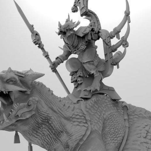 untitled.567.jpg Download free 3MF file One-Armed Dino-Jesus & His Pet Tyrannosaur • 3D printing model, EmanG