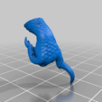 Grymloq_Right_Hand.png Download free 3MF file One-Armed Dino-Jesus & His Pet Tyrannosaur • 3D printing model, EmanG