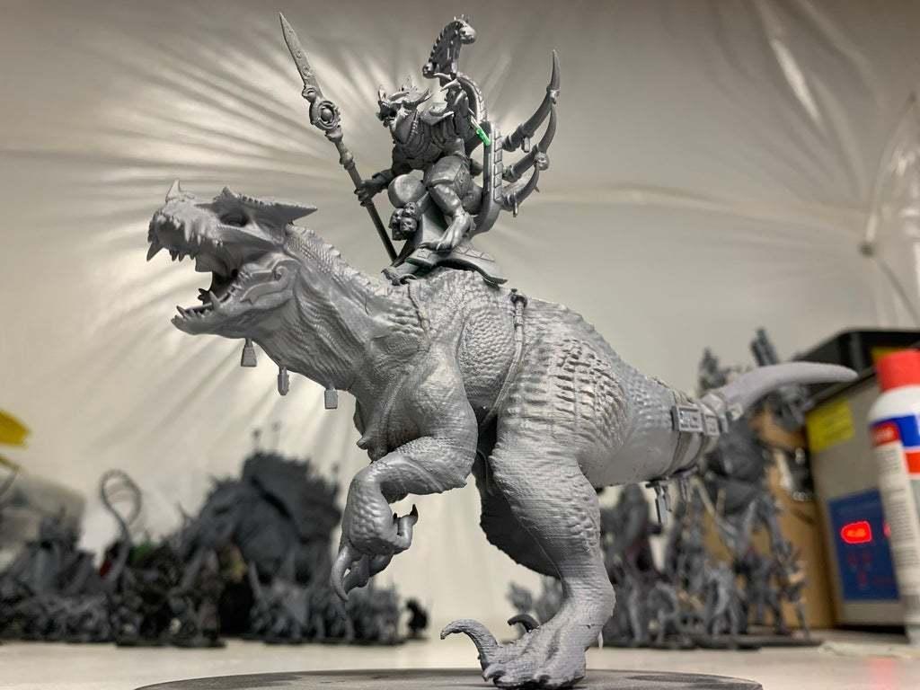 IMG_0160.JPG Download free 3MF file One-Armed Dino-Jesus & His Pet Tyrannosaur • 3D printing model, EmanG