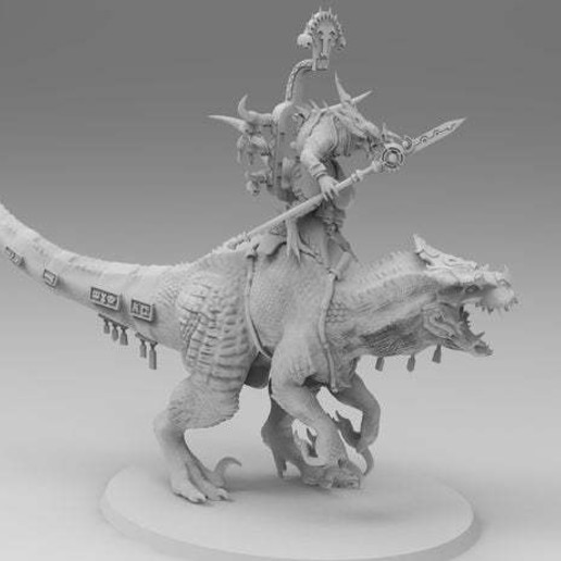 untitled.562.jpg Download free 3MF file One-Armed Dino-Jesus & His Pet Tyrannosaur • 3D printing model, EmanG