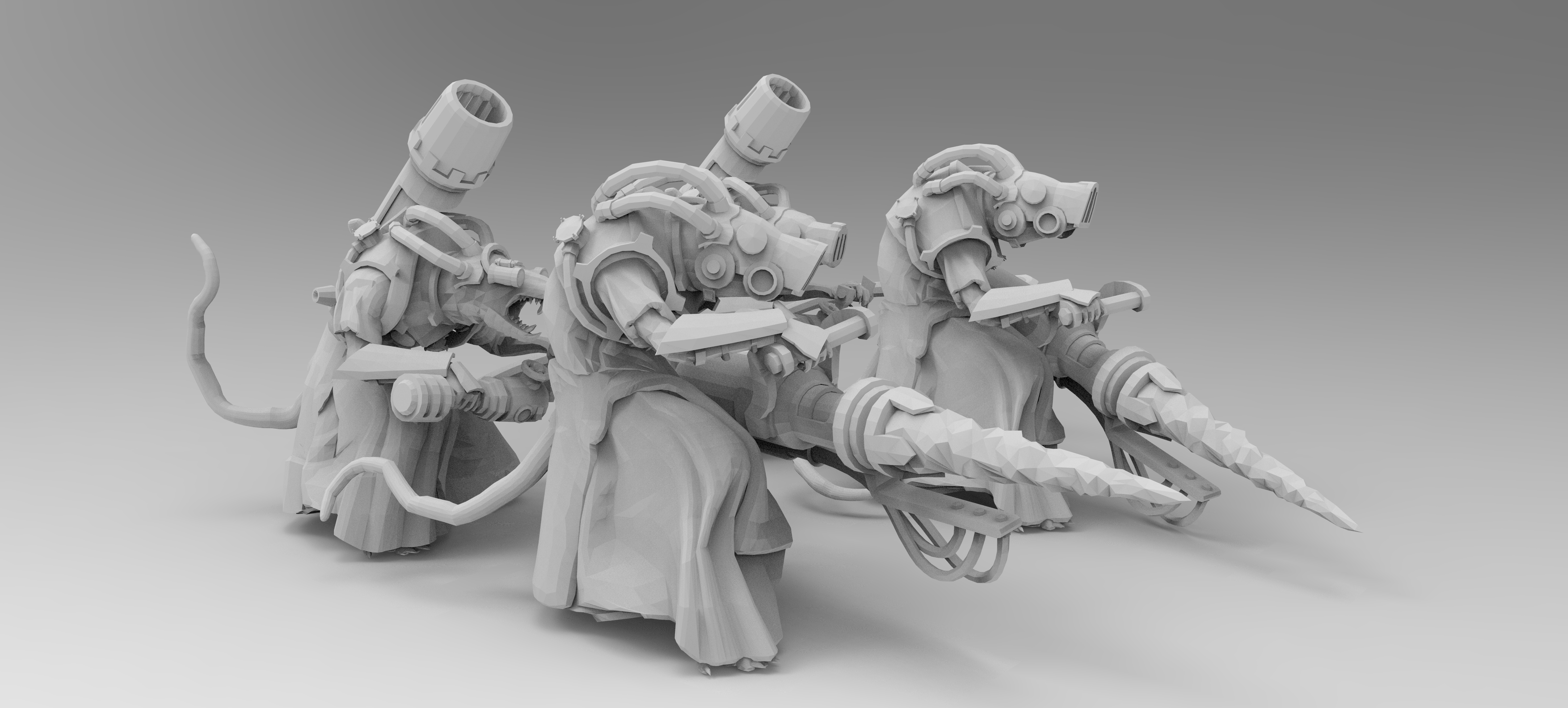 untitled.638.jpg Download free 3MF file Ratman Weapon Squads • 3D printable object, EmanG