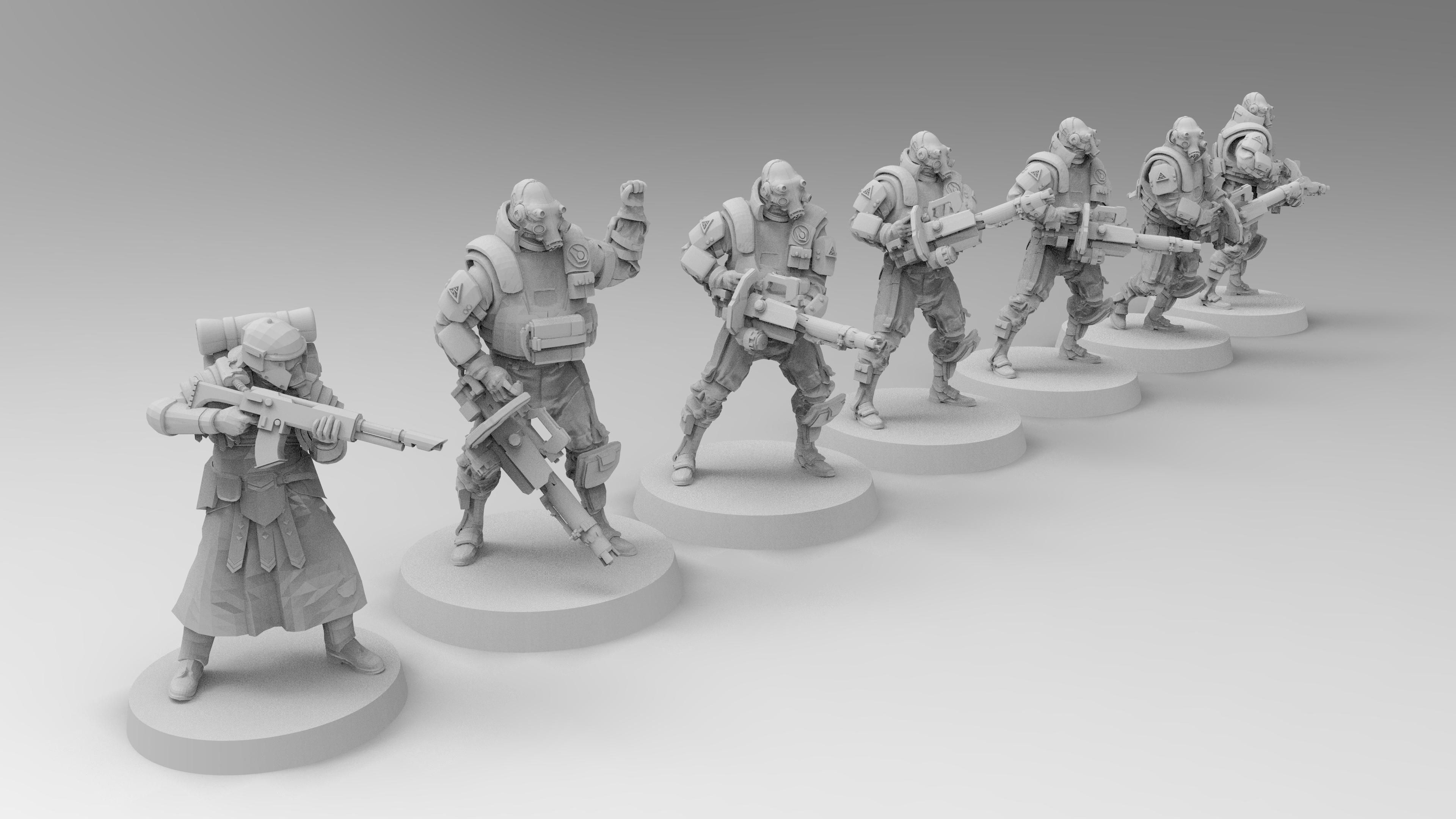 untitled.1283.jpg Download free 3MF file Combine Suppressors (Half-Life) • 3D printable model, EmanG