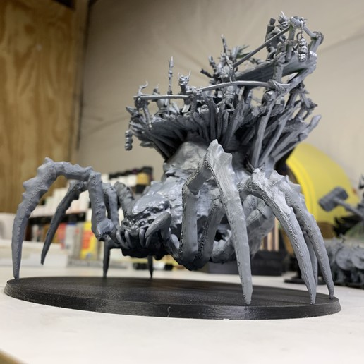 IMG_0561.jpg Download free 3MF file Child of Kumonga with Australian Spider-Tamer Contingent • 3D printable template, EmanG