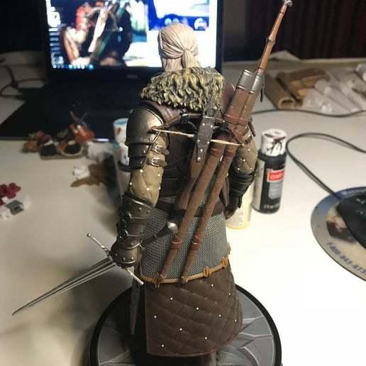 Download free STL file Geralt's Crossbow for Grandmaster Ursine Figure • 3D printing model, EmanG