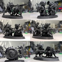 Skaven Weapon Teams 2.jpg Download free 3MF file Ratman Weapon Squads • 3D printable object, EmanG