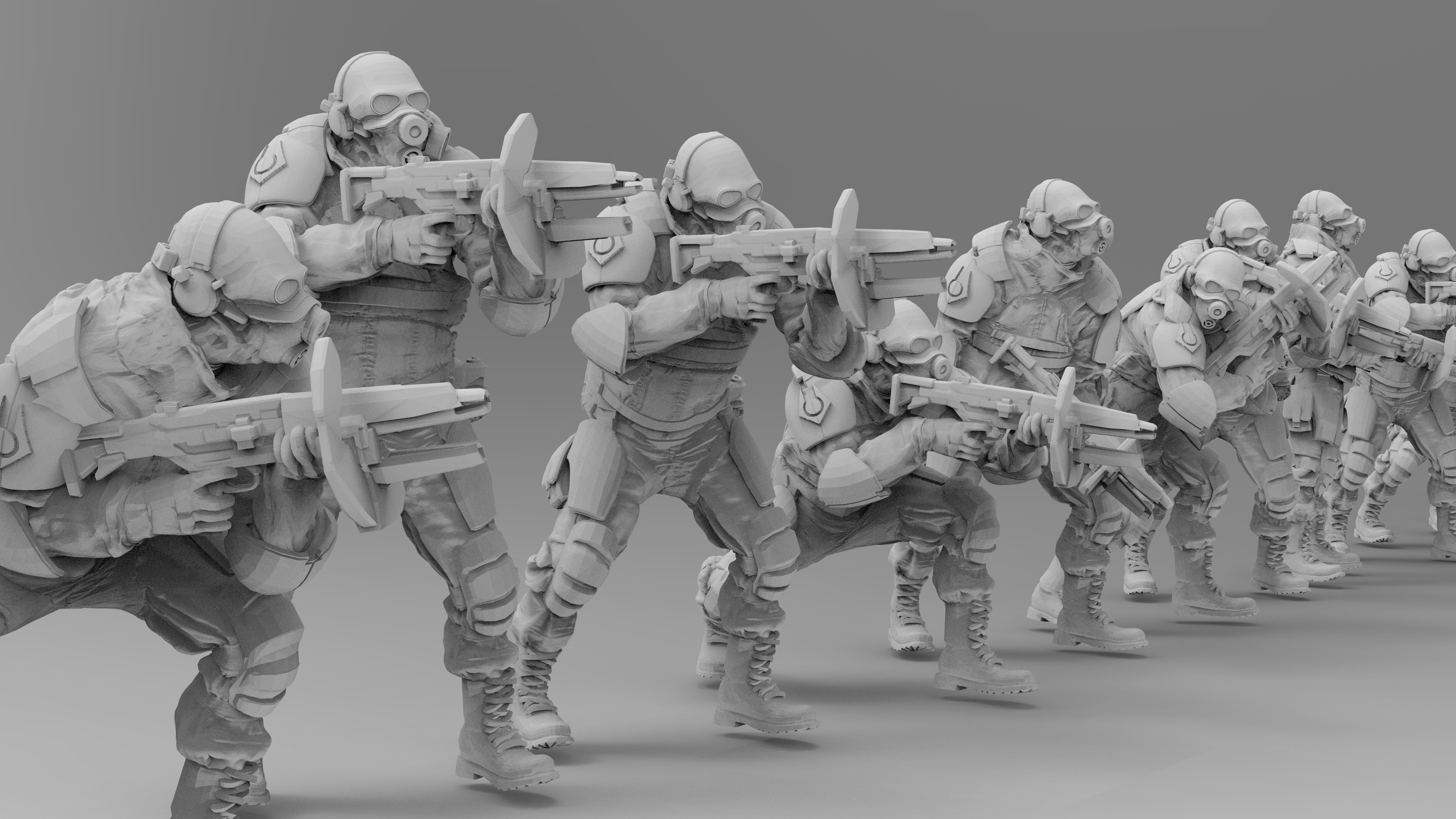 untitled.1375.jpg Download free 3MF file Combine Overwatch Soldiers (Half-Life) • 3D print template, EmanG