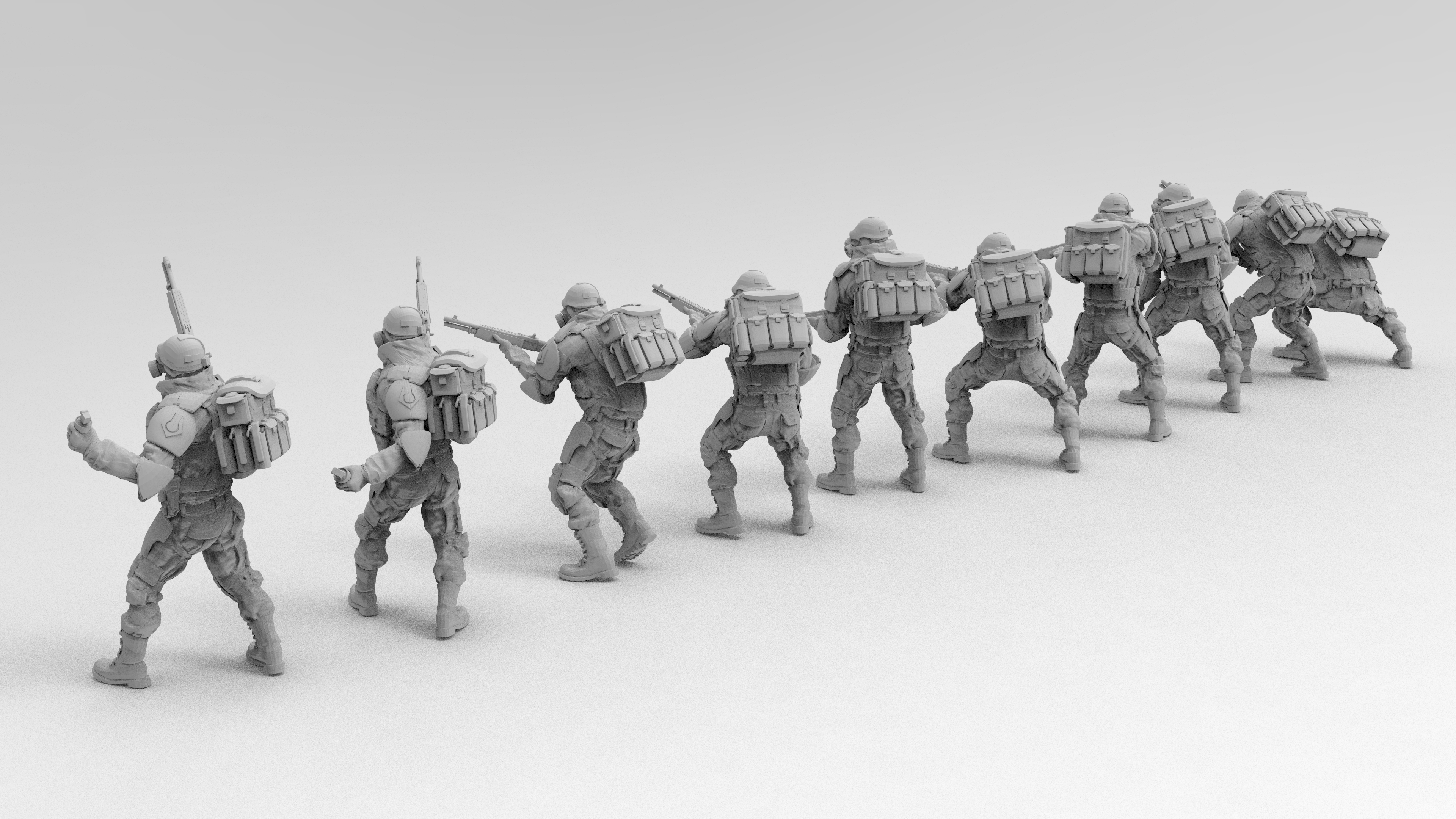 untitled.1370.jpg Download free 3MF file Combine Overwatch Soldiers (Half-Life) • 3D print template, EmanG
