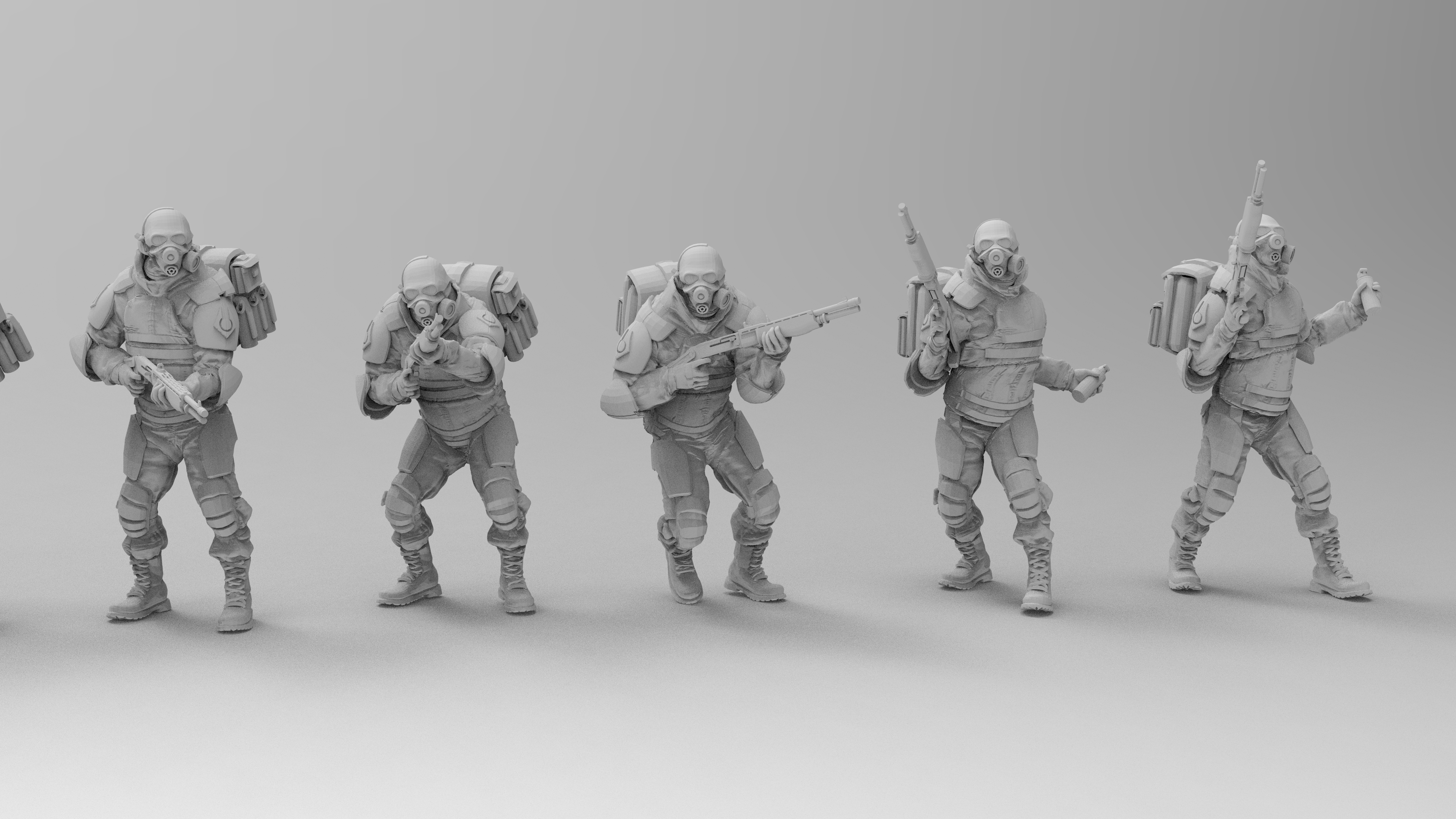 untitled.1368.jpg Download free 3MF file Combine Overwatch Soldiers (Half-Life) • 3D print template, EmanG