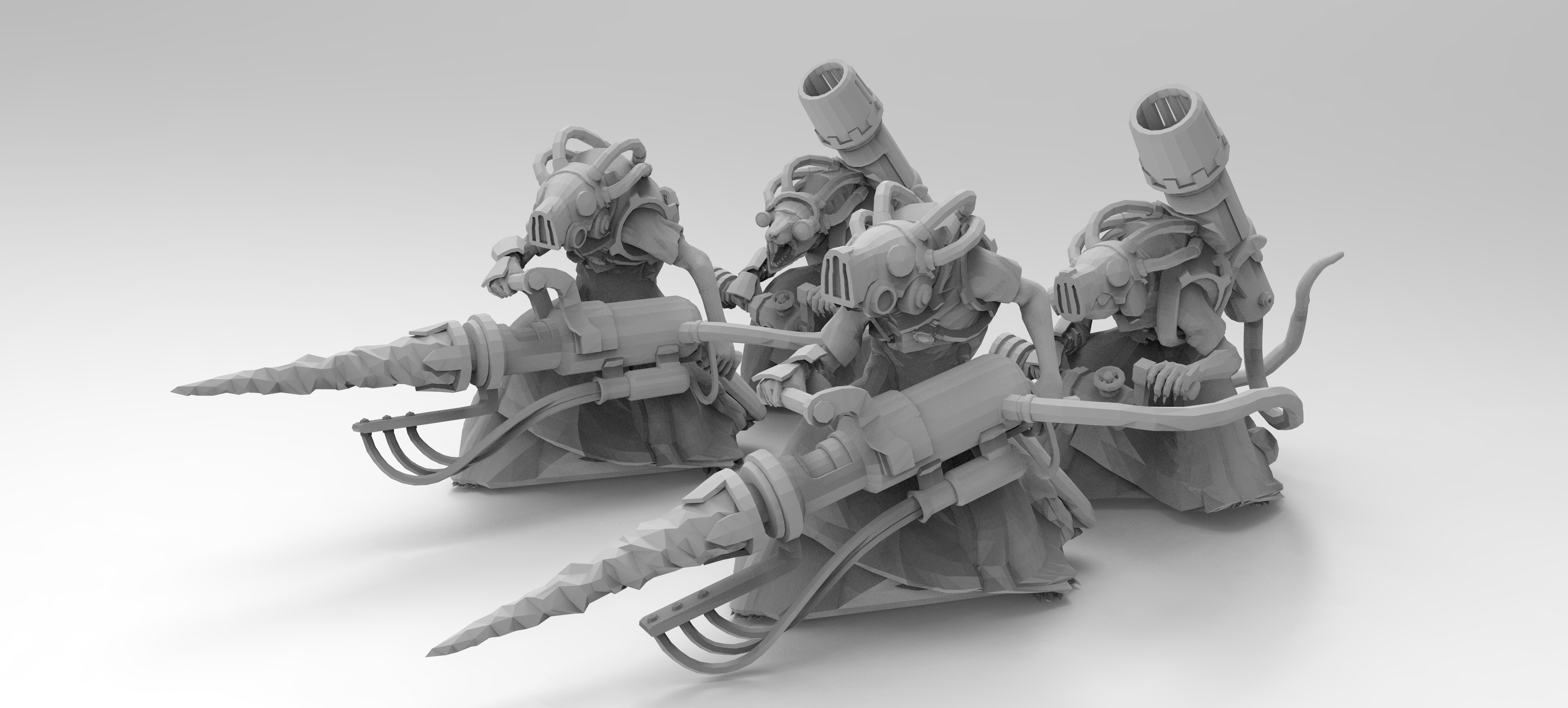 untitled.637.jpg Download free 3MF file Ratman Weapon Squads • 3D printable object, EmanG