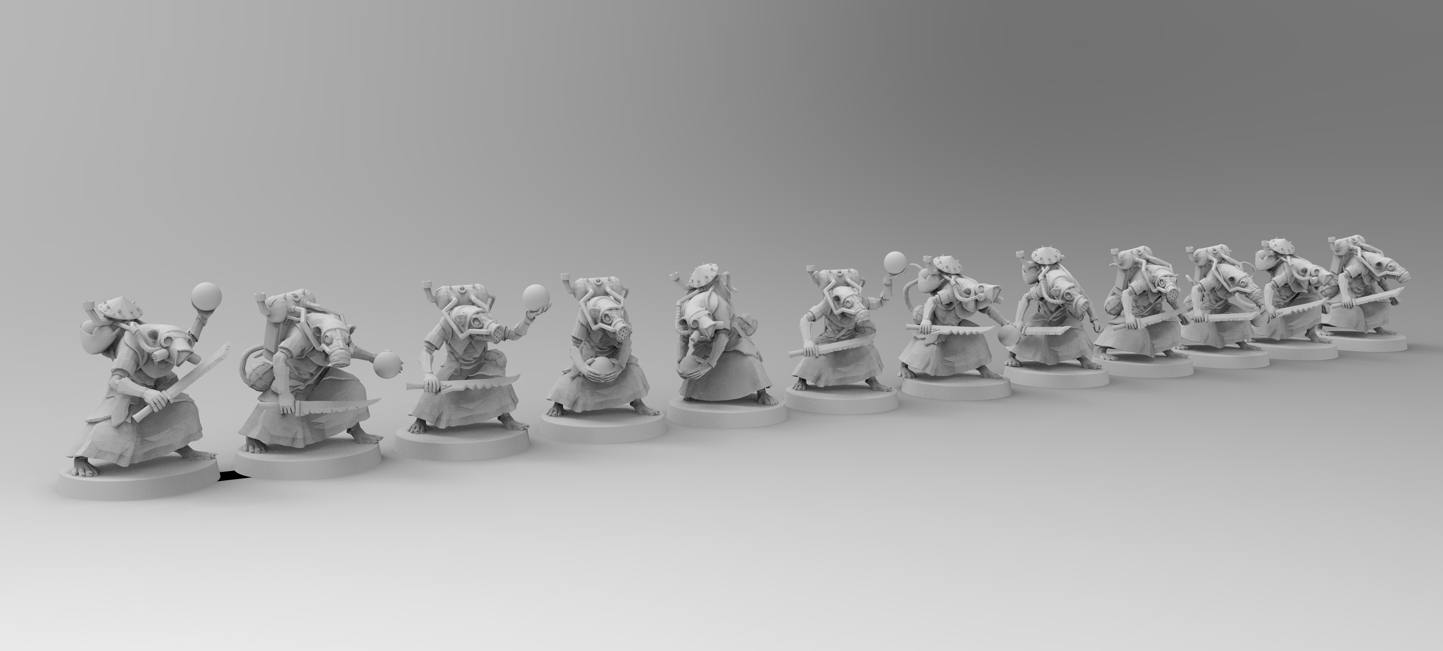 untitled.851.jpg Download free 3MF file Corona Containment Rats • 3D printer object, EmanG