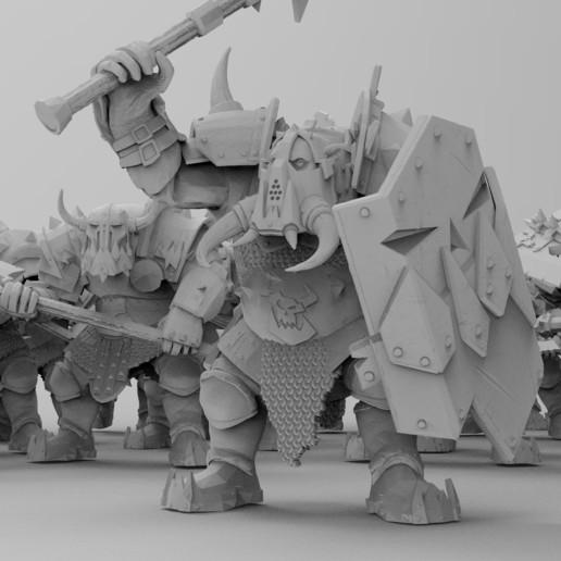 untitled.1537.jpg Download free 3MF file Black-Armored Boss Gitz • 3D printer model, EmanG