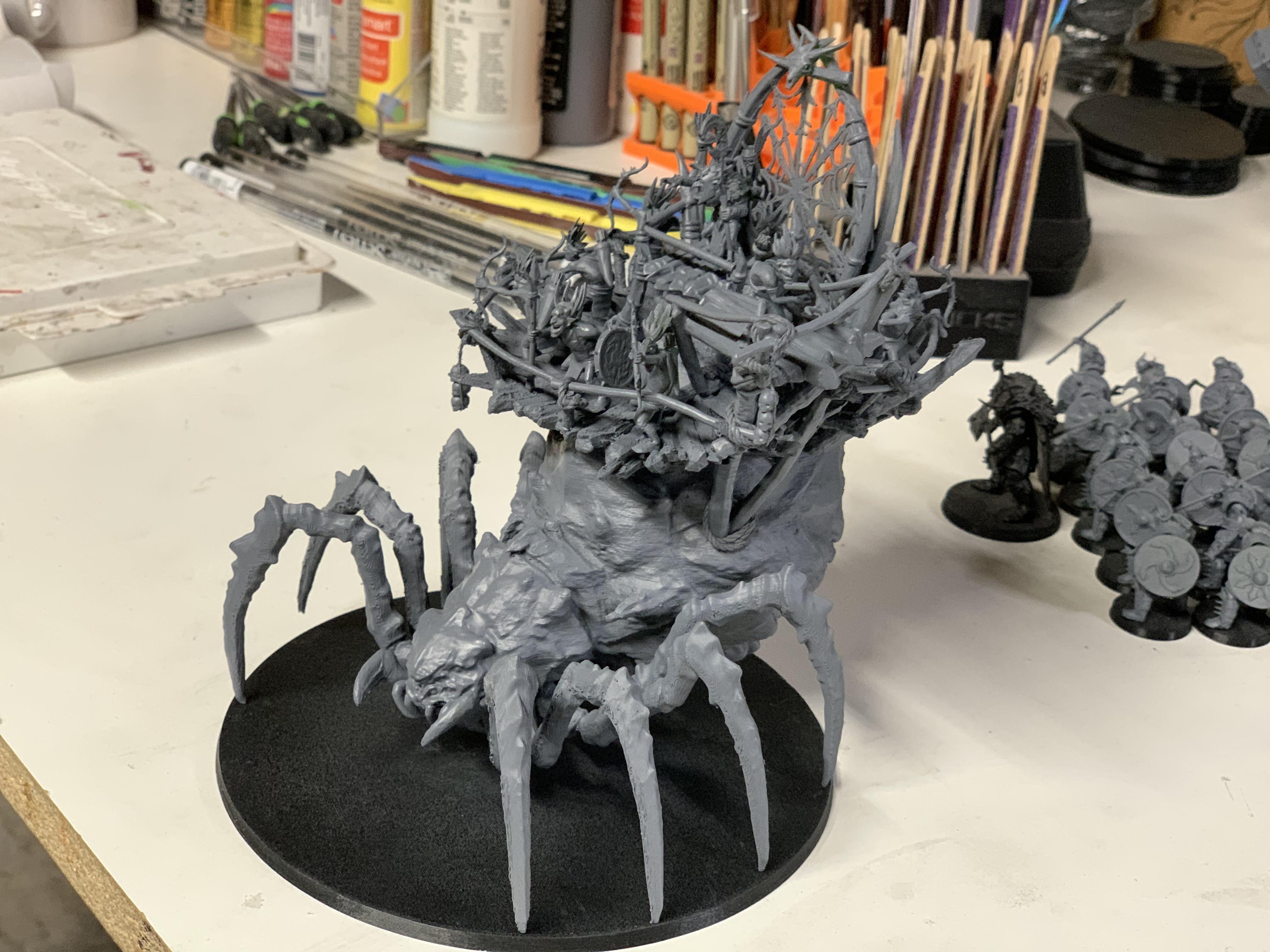 IMG_0554.JPG Download free 3MF file Child of Kumonga with Australian Spider-Tamer Contingent • 3D printable template, EmanG