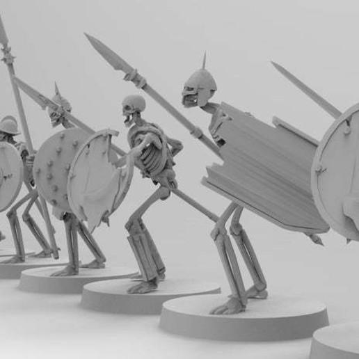 untitled.455.jpg Télécharger fichier 3MF gratuit Spooky Scary Skeleton Warriors • Design pour imprimante 3D, EmanG