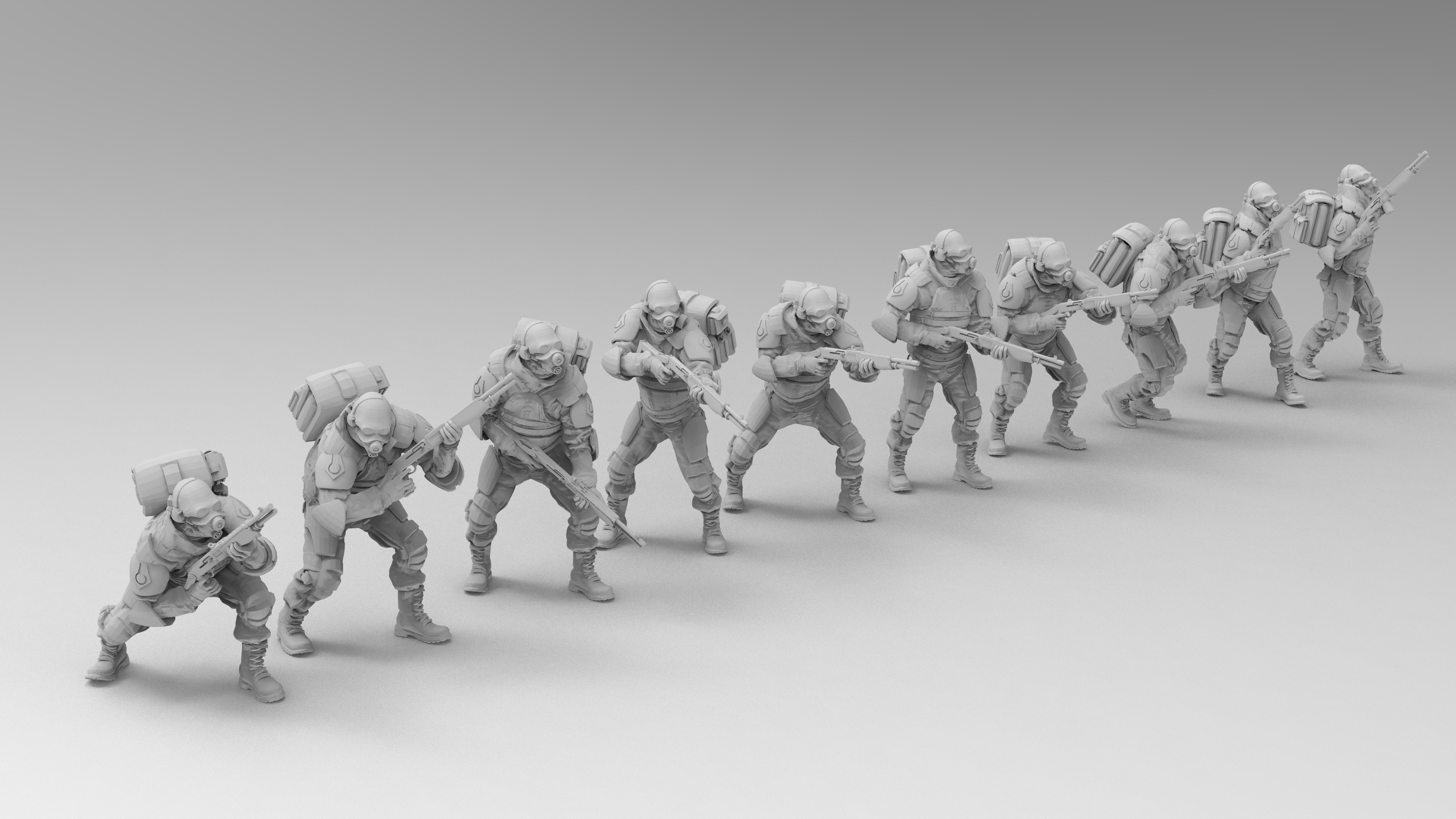untitled.1365.jpg Download free 3MF file Combine Overwatch Soldiers (Half-Life) • 3D print template, EmanG