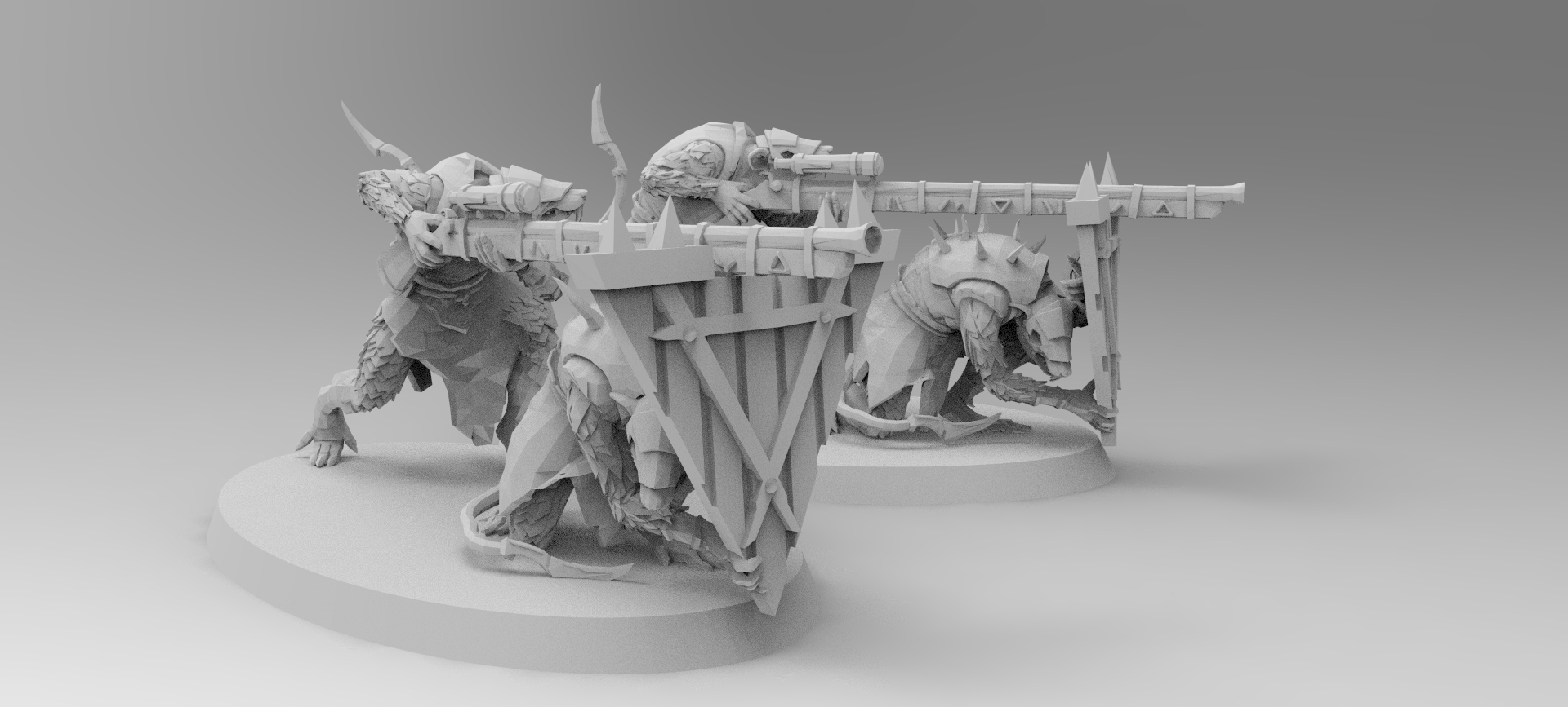 untitled.216.jpg Download free 3MF file Ratman Weapon Squads • 3D printable object, EmanG