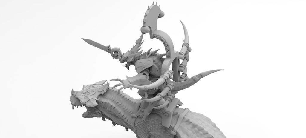 untitled.568.jpg Download free 3MF file One-Armed Dino-Jesus & His Pet Tyrannosaur • 3D printing model, EmanG