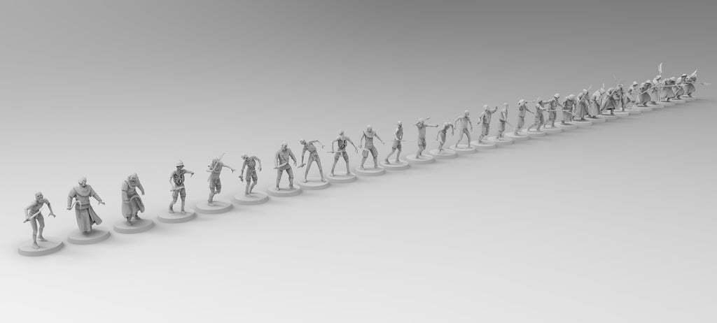 untitled.799.jpg Download free 3MF file Zombies (28mm) • 3D printer design, EmanG