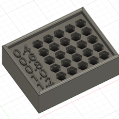 2.PNG Télécharger fichier STL gratuit Boîte à buses Volcano/V6 • Objet pour imprimante 3D, VLS1990